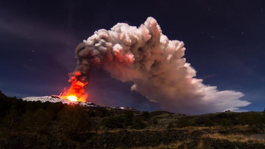 <p>Мощното изригване, смразило Европа, е с нова дата</p>