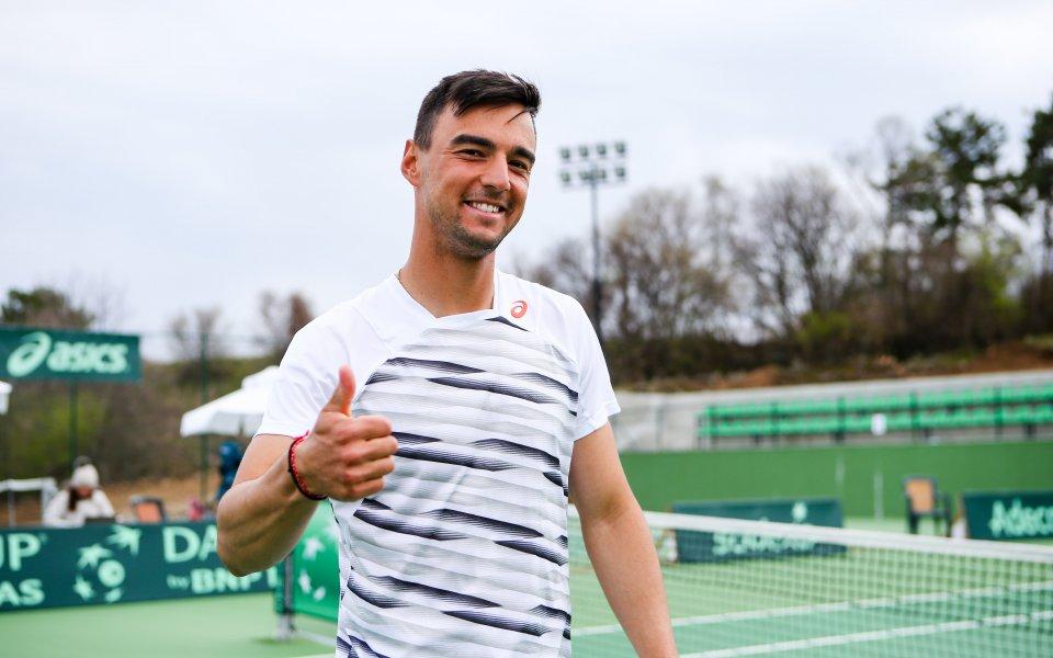 Кузманов загуби на старта на турнира в Рен