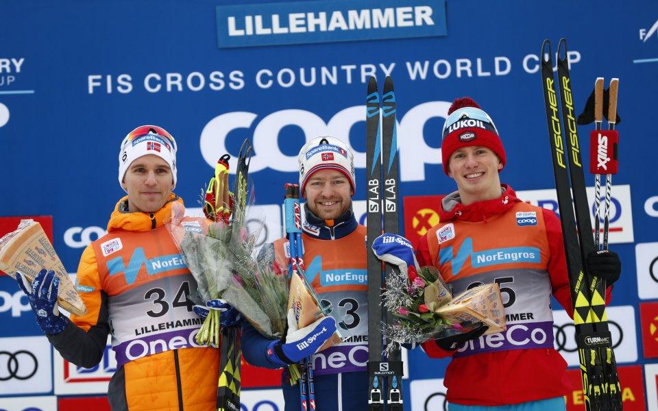 Норвежки триумф и при мъжете на ски бягането в Лилехамер