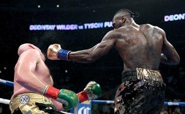 Реваншът между Уайлдър и Фюри в деня на мач на Джошуа