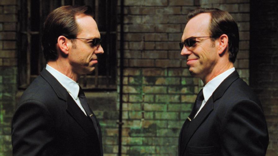 """Агент Смит – Трилогията """"Матрицата"""" (1999 – 2003), Режисьори: Анди и Лари Уашовски"""