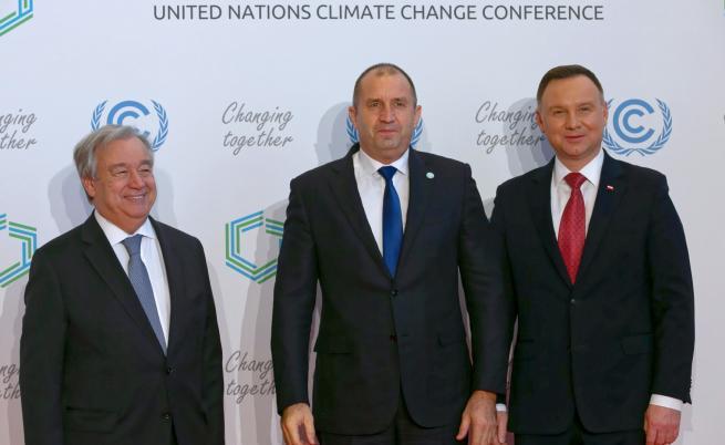 Радев: Амбицията за парниковите емисии не в интерес на България