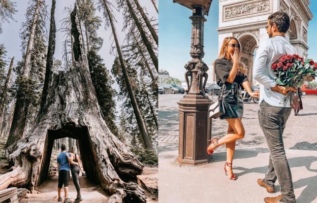 Навсякъде, където не е пренаселено с туристи и можеш да се насладиш на любовта и пътешествието