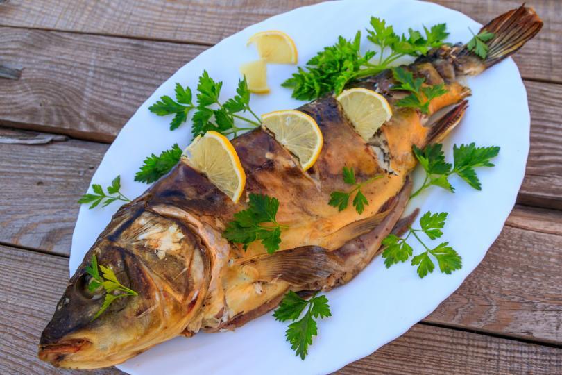 <p>Върху повърхността на прясната риба има много тънък слой слуз. Ако слузта е обилна, а слоят плътен, това означава, че рибата е престояла по-дълго време.</p>