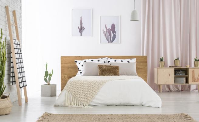 Идеи за повече пространство в малката спалня