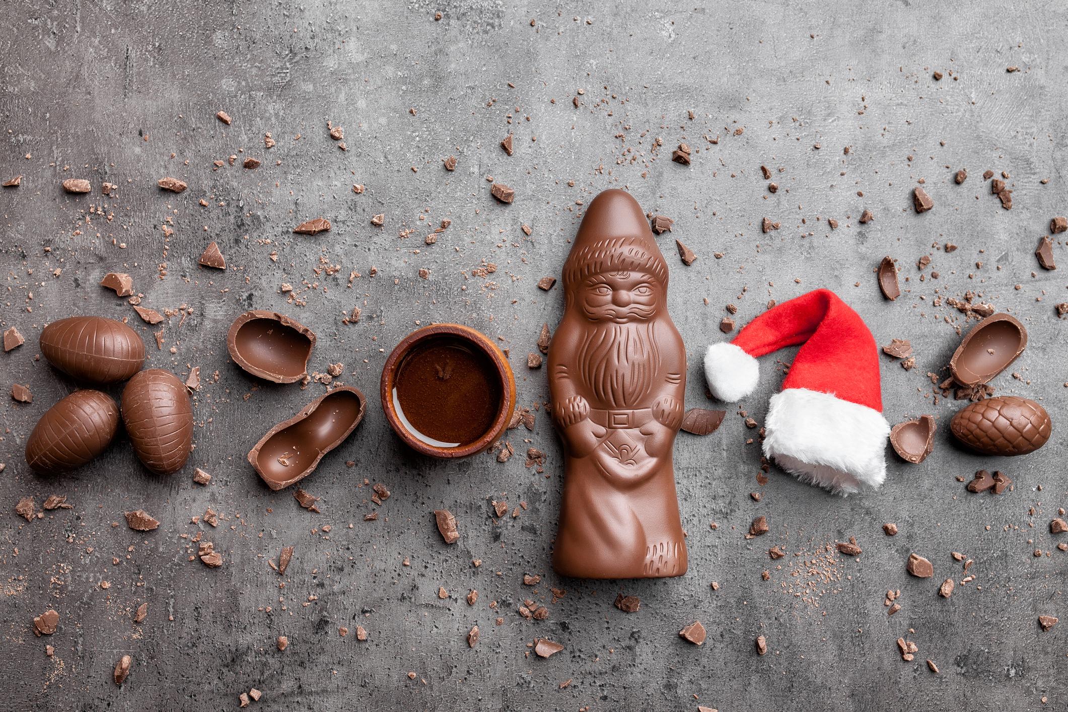 Шоколадов Дядо Коледа – задължителен под всяка елха, във всеки дом, допълнение към всеки подарък, идеално решение за подарък в последния момент.