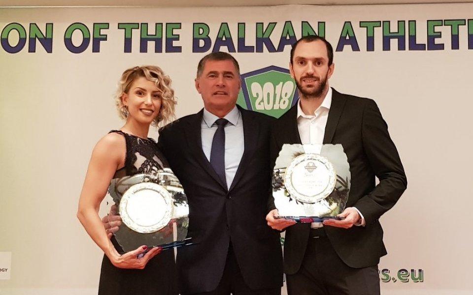 Гулиев и Папахристу са номер 1 в атлетиката на Балканите