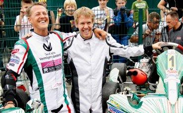 Фетел: Шумахер е моят герой, ще ми се да се върне
