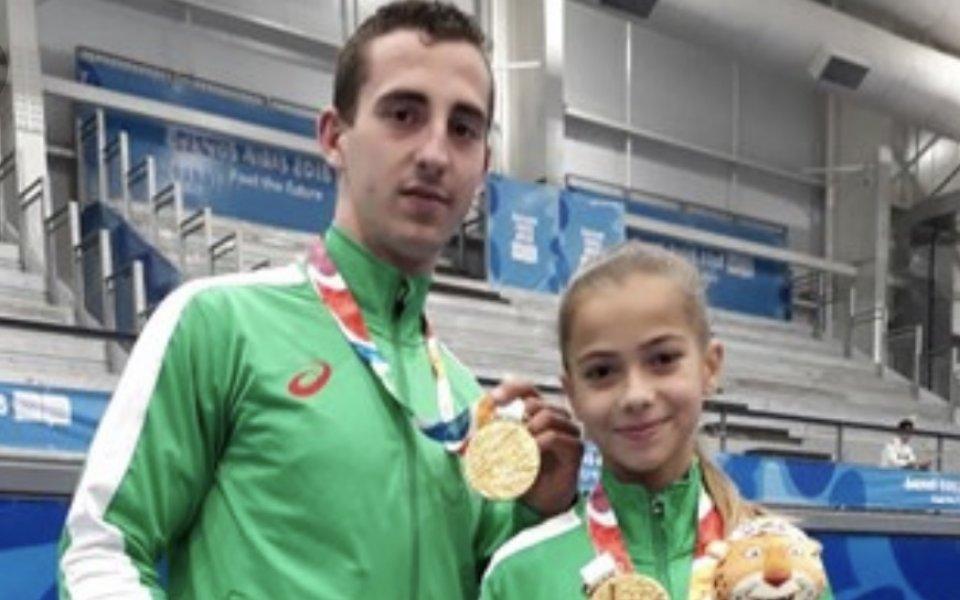 Мариела Костадинова и Панайот Димитров - №1 в класация за Спортист на България до 18г.