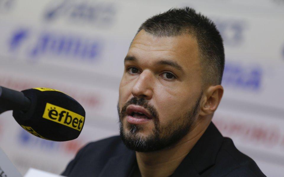 Нападателят на Ботев Враца Валери Божинов изрази мнението си след