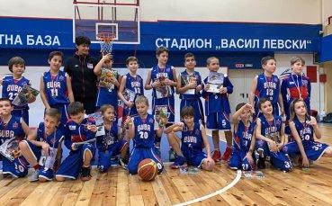 Много забавления и награди за децата на турнира