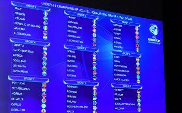 Ясни са съперниците на младежите за Евро 2021