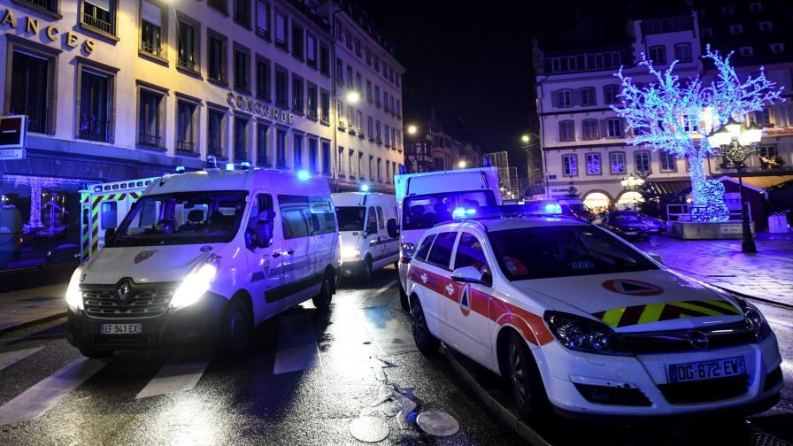 <p>След атентата във Франция: 2&nbsp;убити и 13&nbsp;ранени</p>