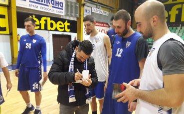 Световен шампион надъхва Спартак Пл преди дербито с Левски Лукойл