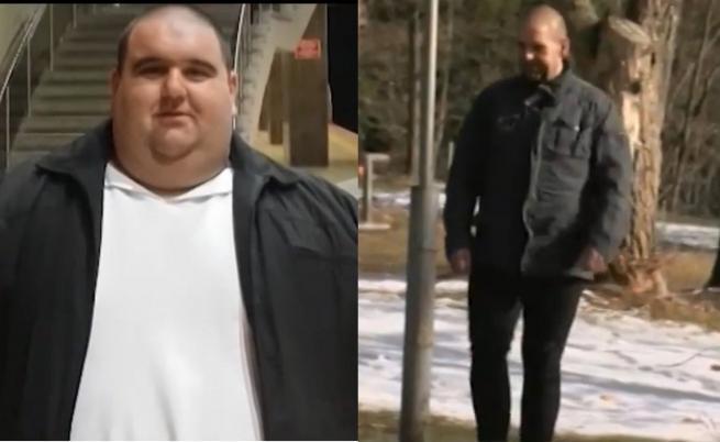 Мъж от Благоевград свали 140 кг за 2 години