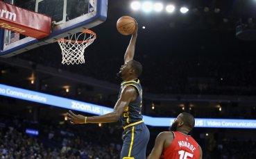 Лидерът в НБА Торонто прекъсна серия от загуби от Голдън Стейт