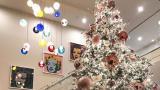 <p>Златни елхи и пищни украси. Коледата на Кардашиян</p>