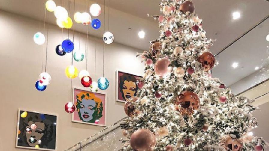 Нещо величествено! Коледната украса на...