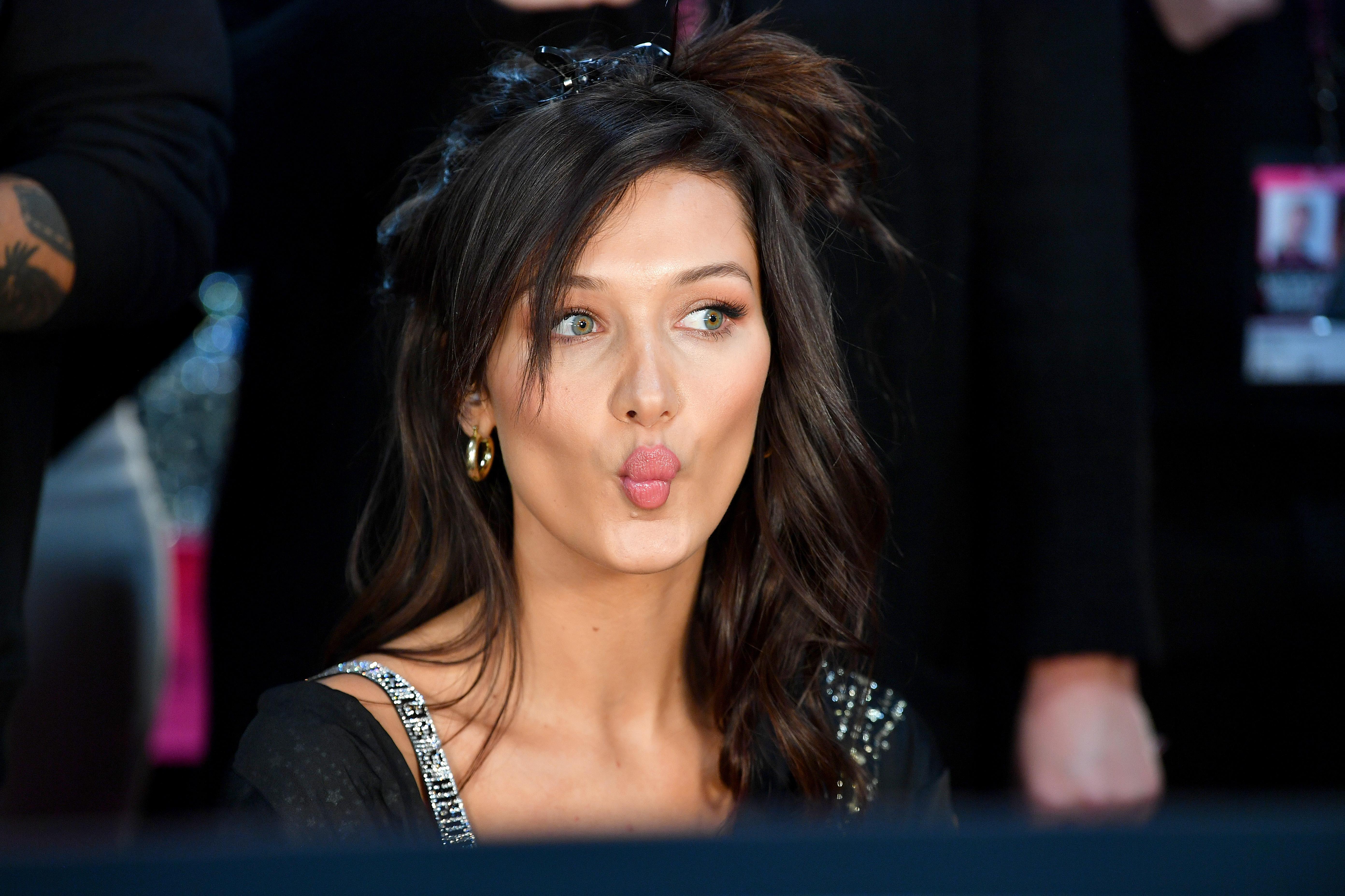 8. На осмо място в класацията на изданието е и манекенката Бела Хадид.