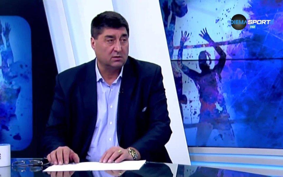 Дългогодишният член на Управителния съвет на Българска федерация волейбол -
