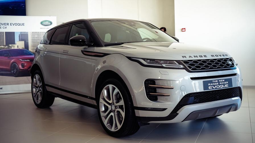 За пръв път на живо: новият Range Rover Evoque в България