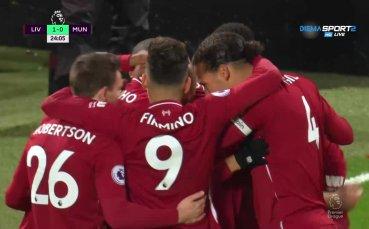 Ливърпул поведе на Юнайтед /1:0/