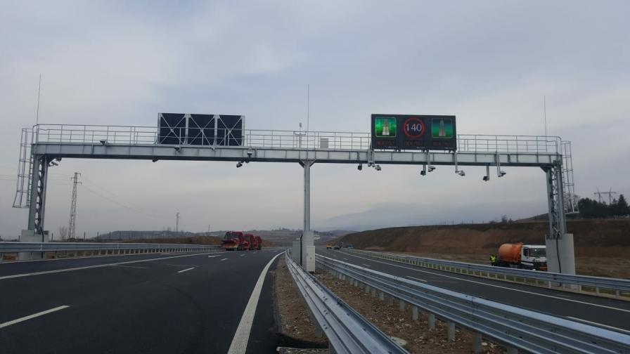 <p>И от Кресна до Сандански вече по магистрала</p>