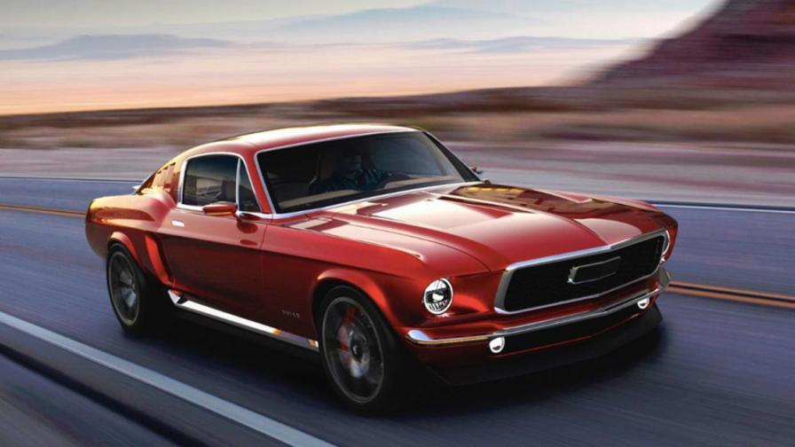 <p>Това е руски електрически Mustang с 840 к.с.</p>