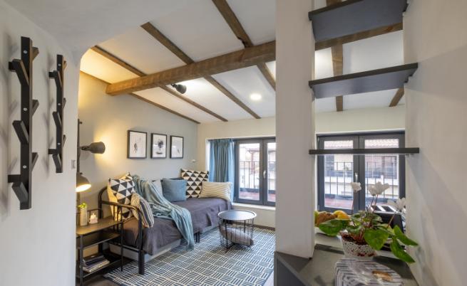 Как 17 кв. метра могат да се превърнат в уютен и красив дом