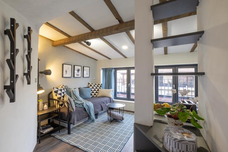 малко помещение таванско помещение красив дом дибла