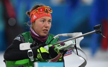 Олимпийска шампионка по биатлон се завръща