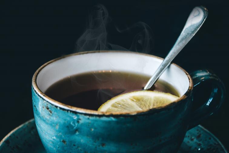мента чай лимони джинджифил