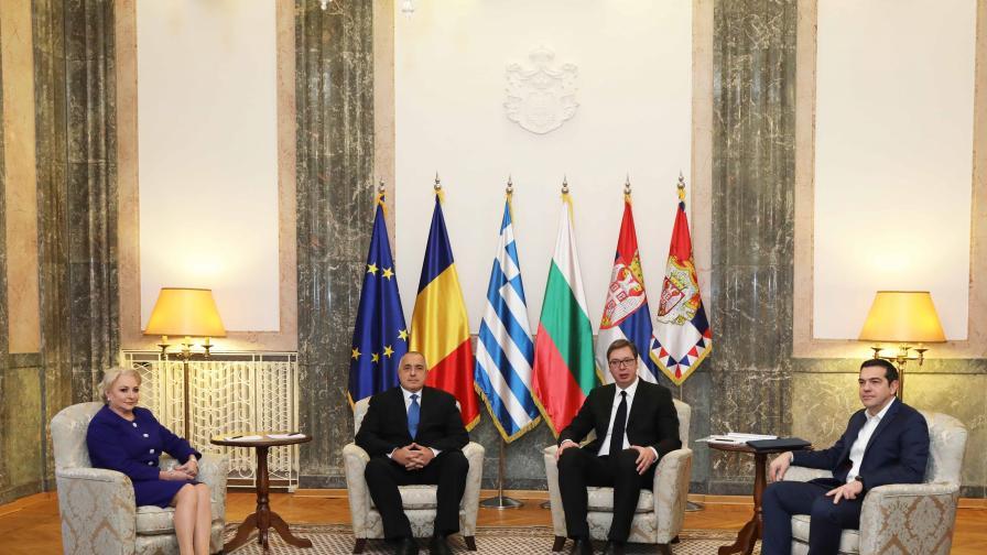 Борисов: Миграцията може да потопи Балканите