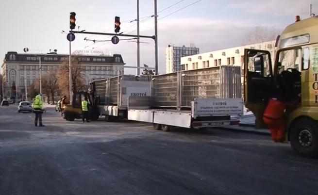 Тапа в Пловдив, затворен е голям булевард