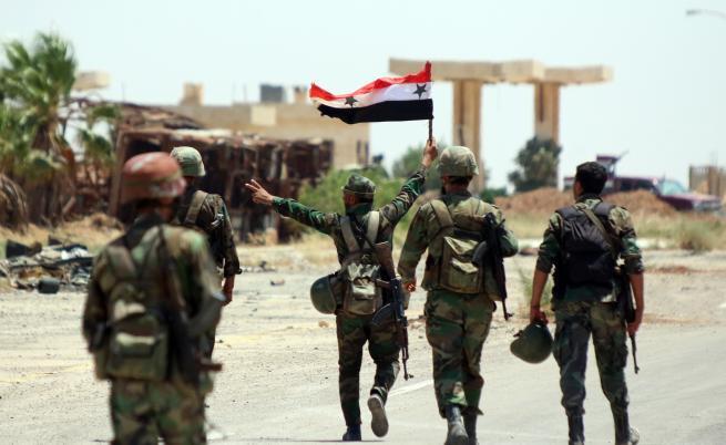 Сирийската армия установи контрол над Манбидж