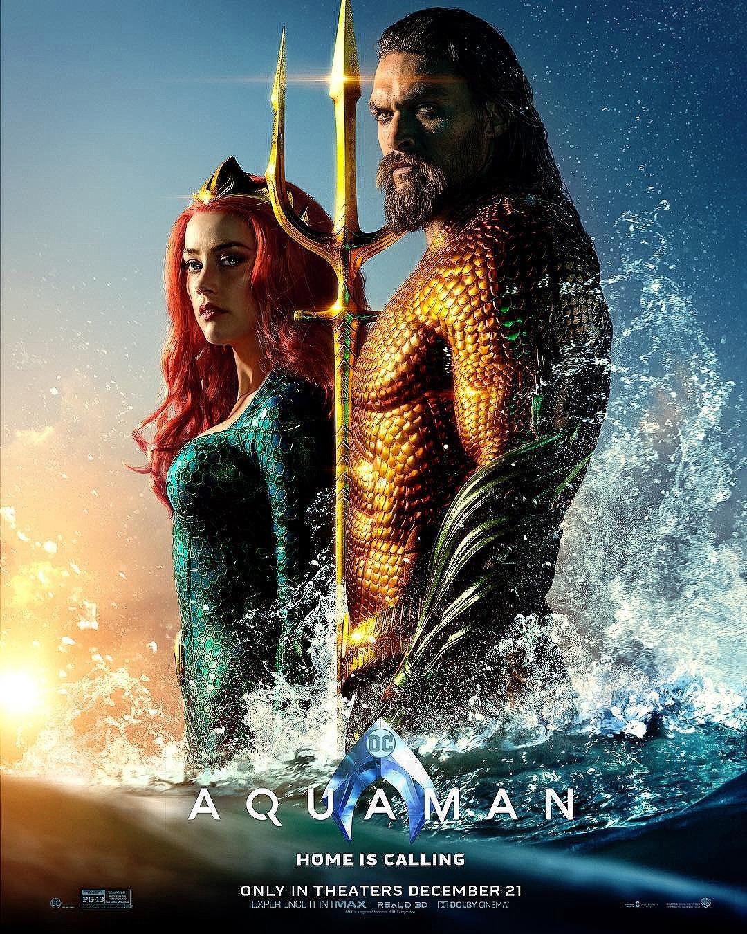 """7. Aquaman / """"Аквамен"""" – Режисьор: Джеймс Уан; Участват: Джейсън Момоа, Амбър Хърд, Уилям Дефоу"""