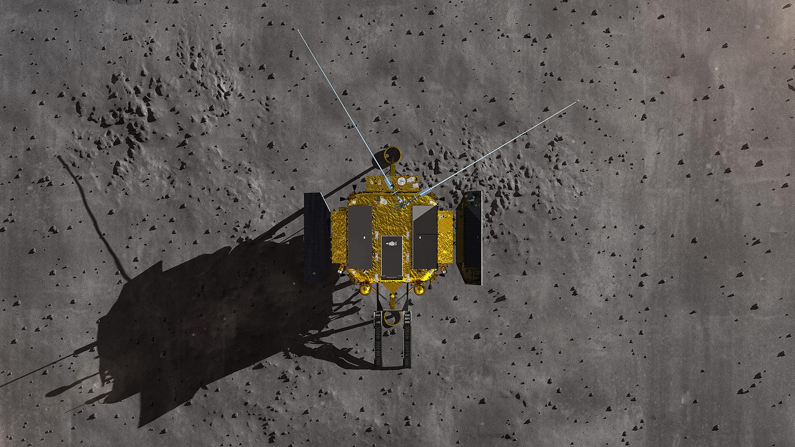 """Очаква се китайската лунна сонда """"Chang'e-4"""" да направи меко кацане в тъмната (далечната) страна на луната през следващите дни"""