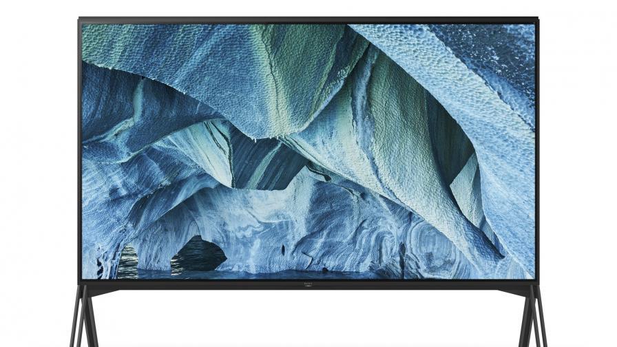 Един от новите 8K телевизори на Sony