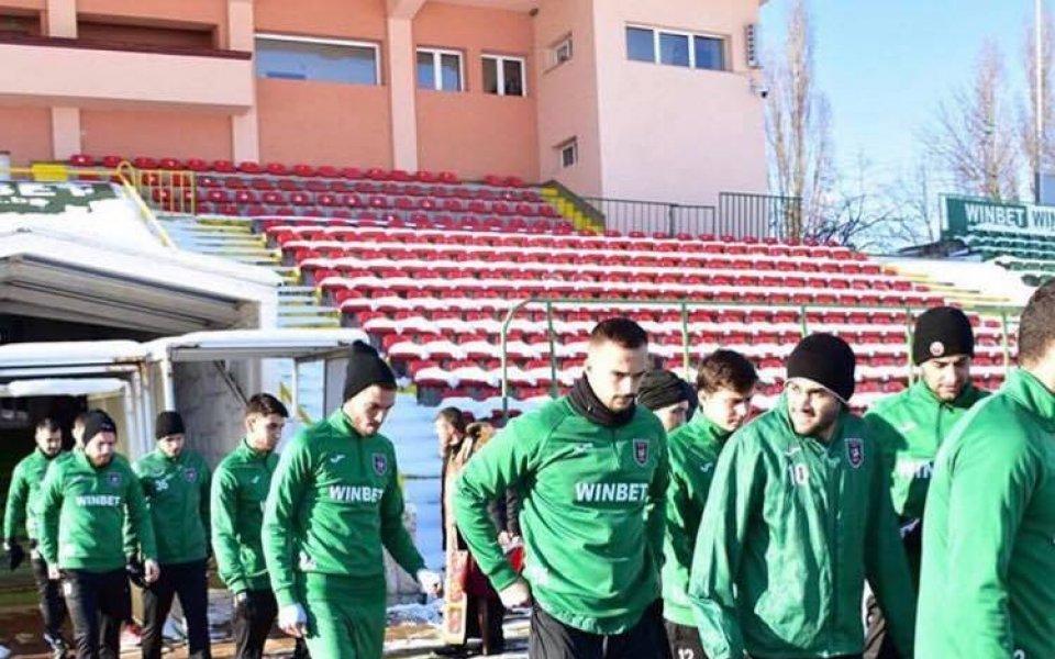 Ботев Враца надви тим от Казахстан в контрола, Божинов игра