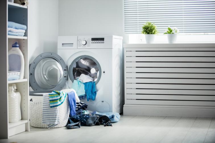 пране зима сушене