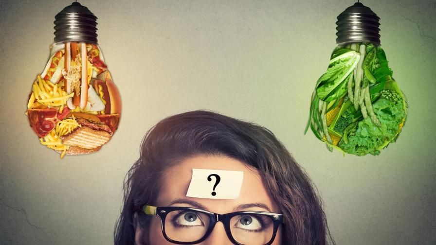 жена храна мислене