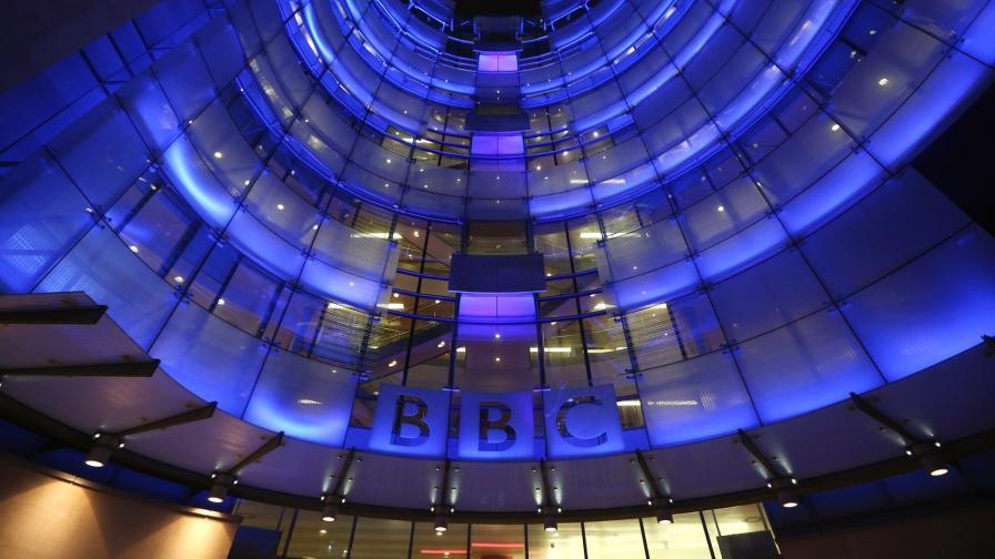 Сградата на Би Би Си в Лондон
