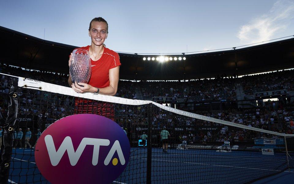 Петра Квитова с 28-а титла в кариерата си