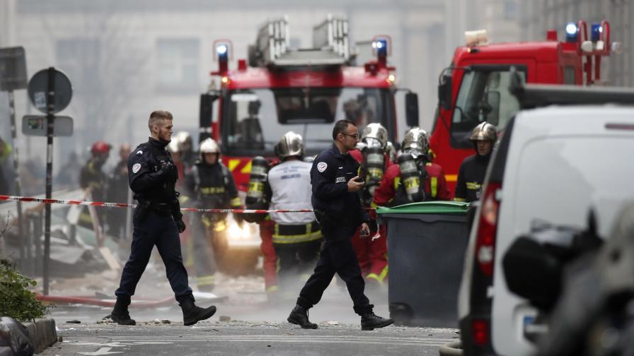 Пекарна се взриви в Париж