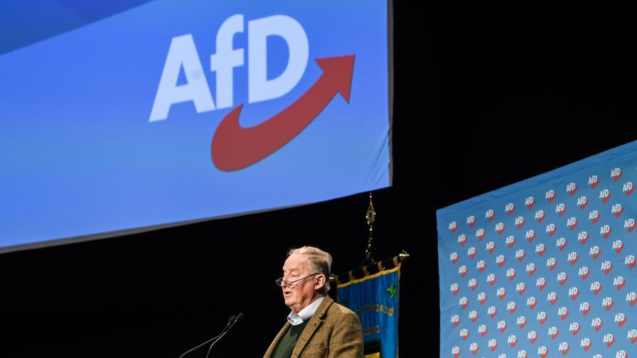 """Без прецедент - """"Алтернатива за Германия"""" за излизане от ЕС"""