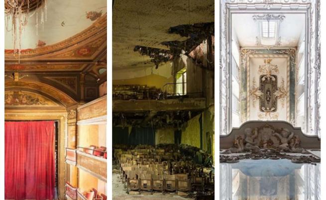 Изоставени: Театри, които днес изглеждат страховито