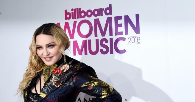 """Снимка: """"Застиналото"""" лице на Мадона: поп звездата не е това, което беше"""