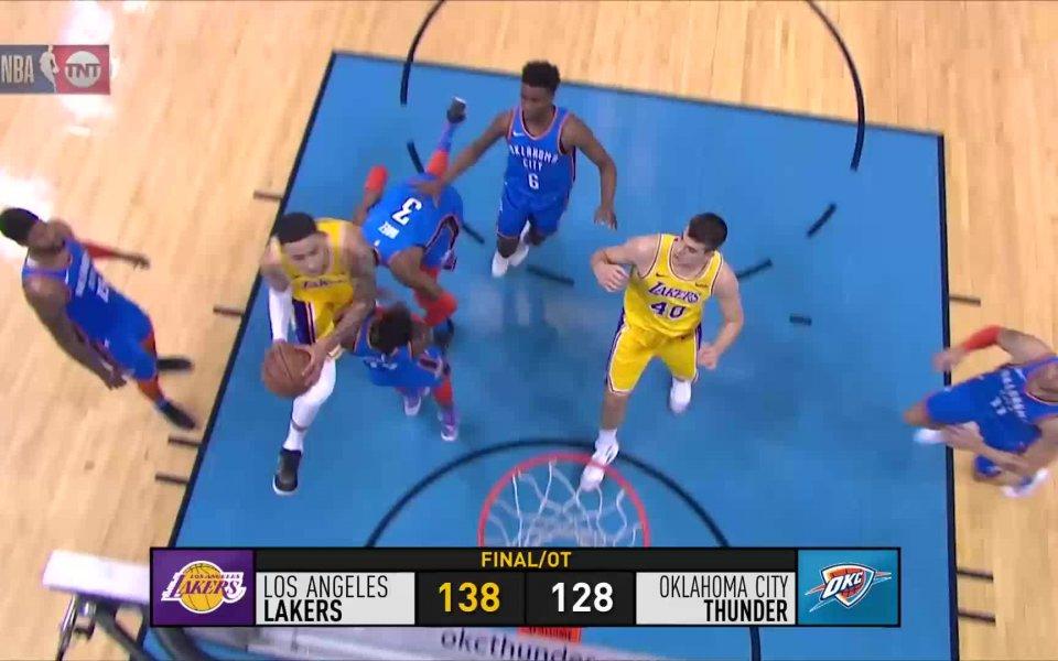 Резултатите от НБА