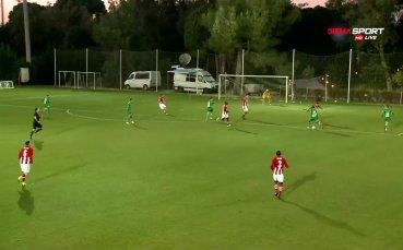 Адриен Попа с първи гол за Лудогорец