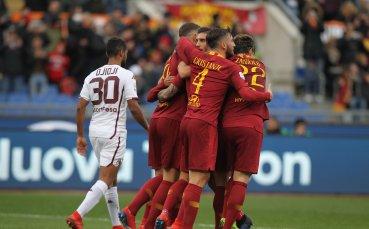 Рома почна годината с успех и се намести в Топ 4 за кратко